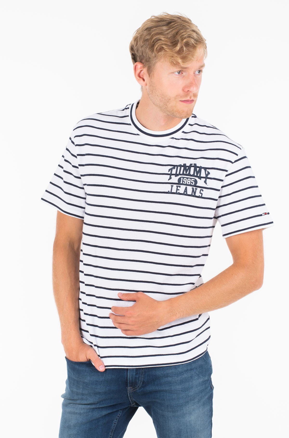 T-särk TJM GRAPHIC STRIPE TEE-full-1