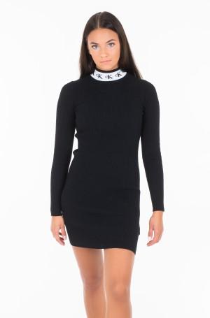 Knitted dress MONOGRAM TAPE SWEATER DRESS J20J212154-1