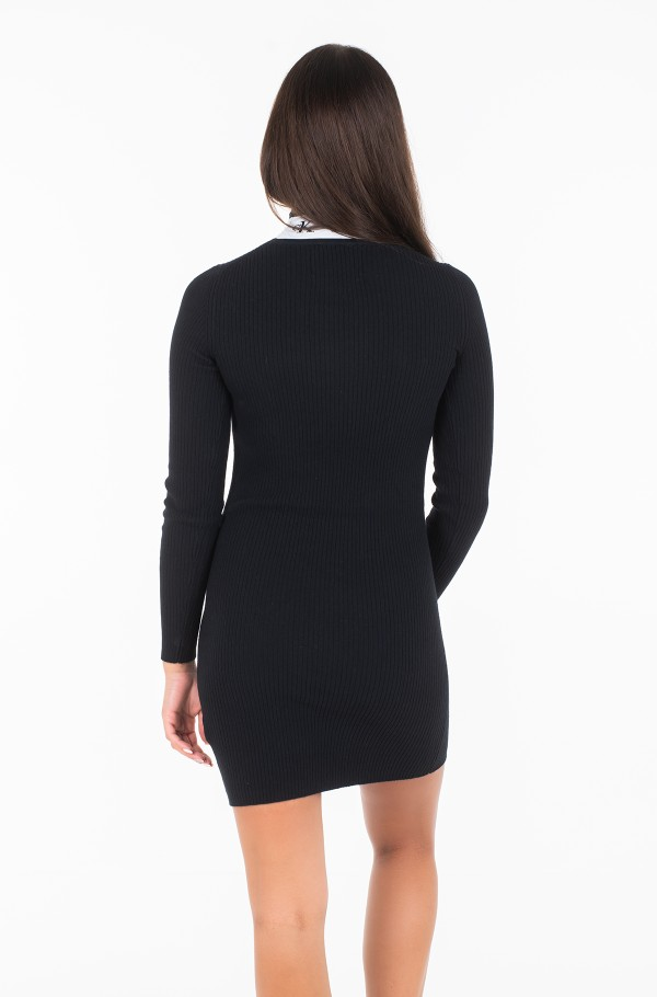 MONOGRAM TAPE SWEATER DRESS J20J212154-hover