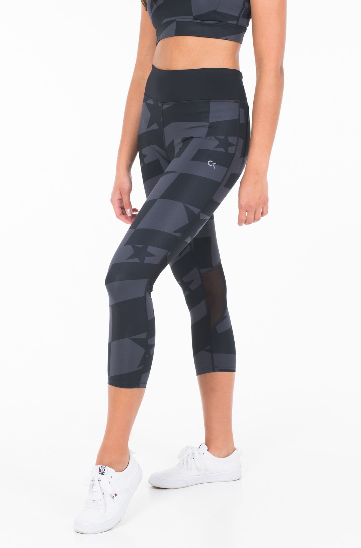 Sportinės kelnės CROP LENGTH PRINT TIGHT	-full-1