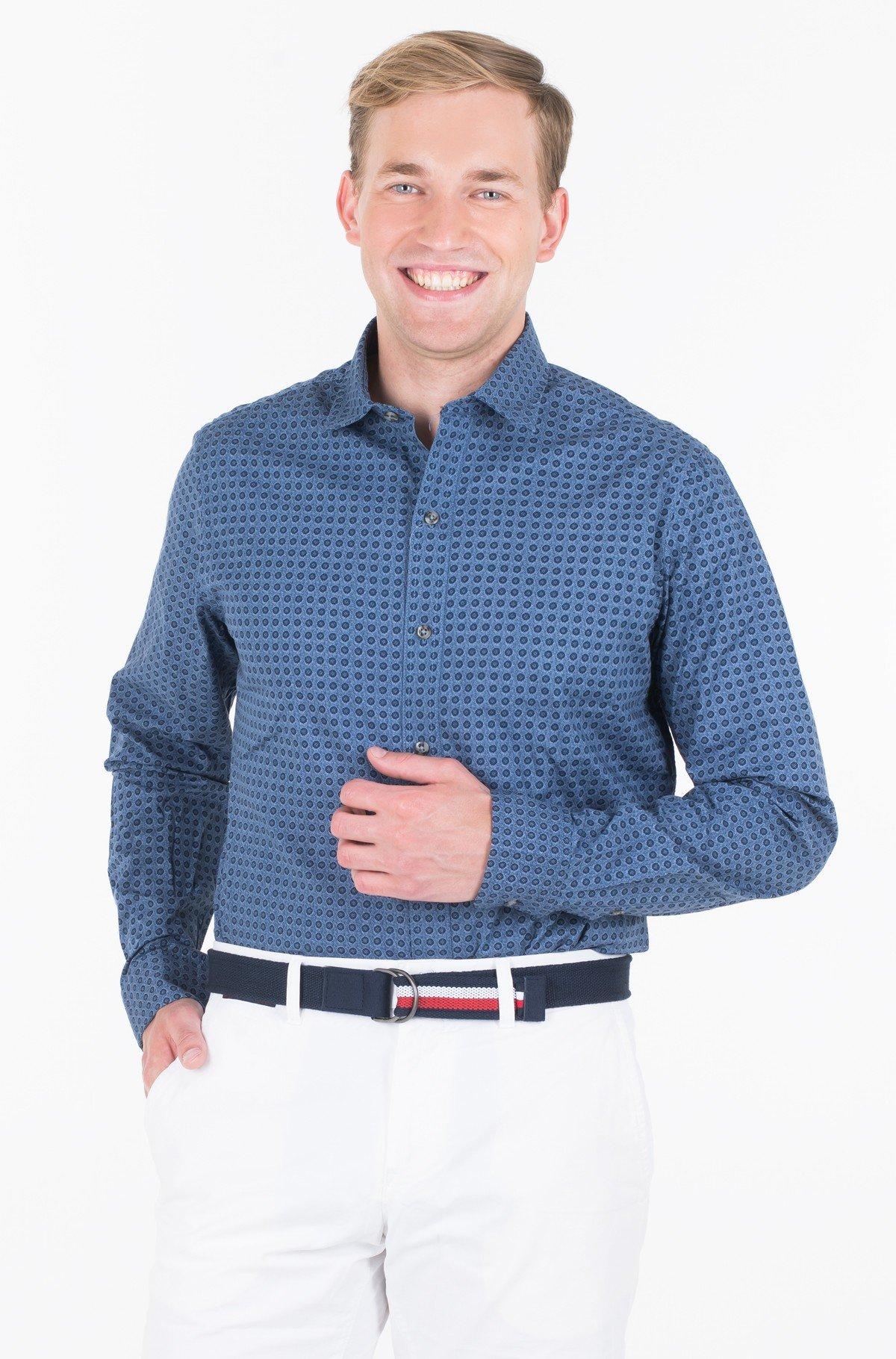 Marškiniai FLORAL PRINT SPREAD COLLAR SHIRT-full-1