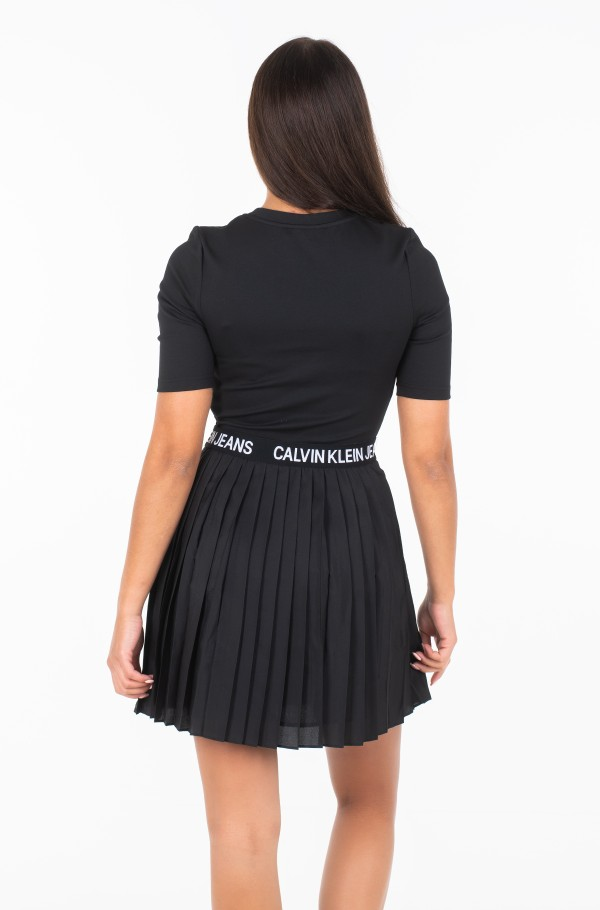 PLEATED DRESS J20J212528-hover
