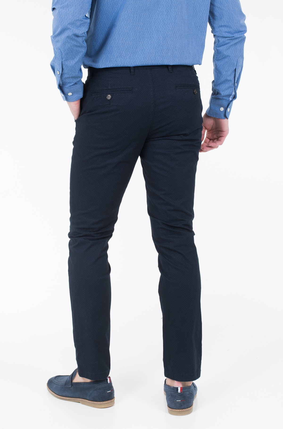 Kelnės STRAIGHT CHINO STR MCR CIRLE PRT	-full-2
