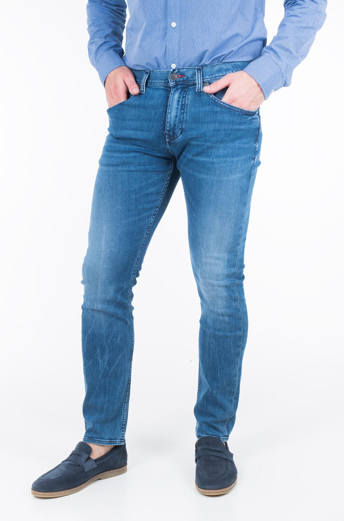 Džinsinės kelnės SLIM BLEECKER PSTR PORTAL BLUE-full-1