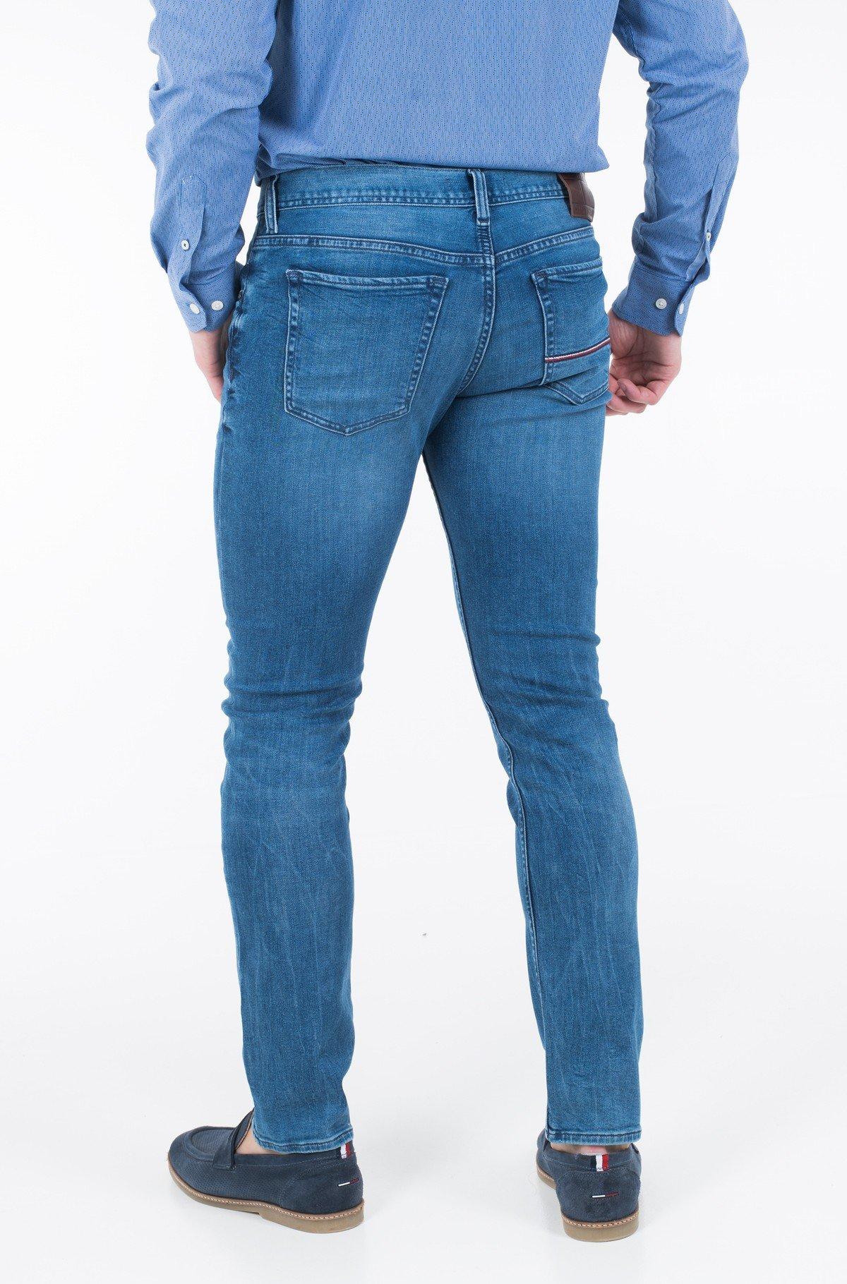 Džinsinės kelnės SLIM BLEECKER PSTR PORTAL BLUE-full-2