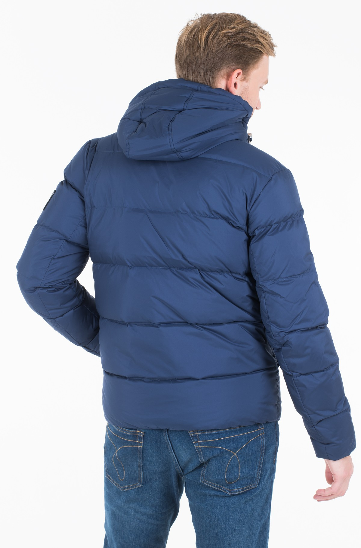 Jacket HOODED DOWN PUFFER JACKET	-full-2