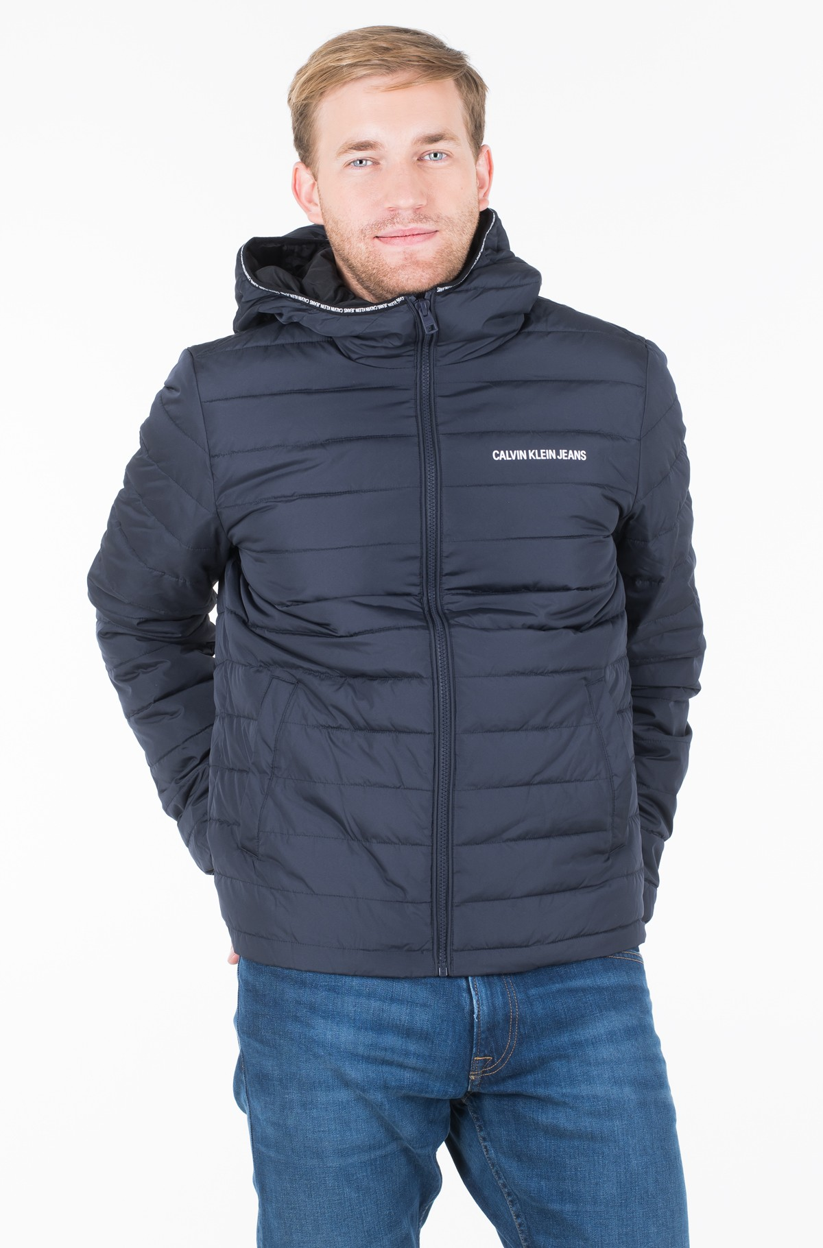 Striukė PADDED HOODED JACKET	-full-1