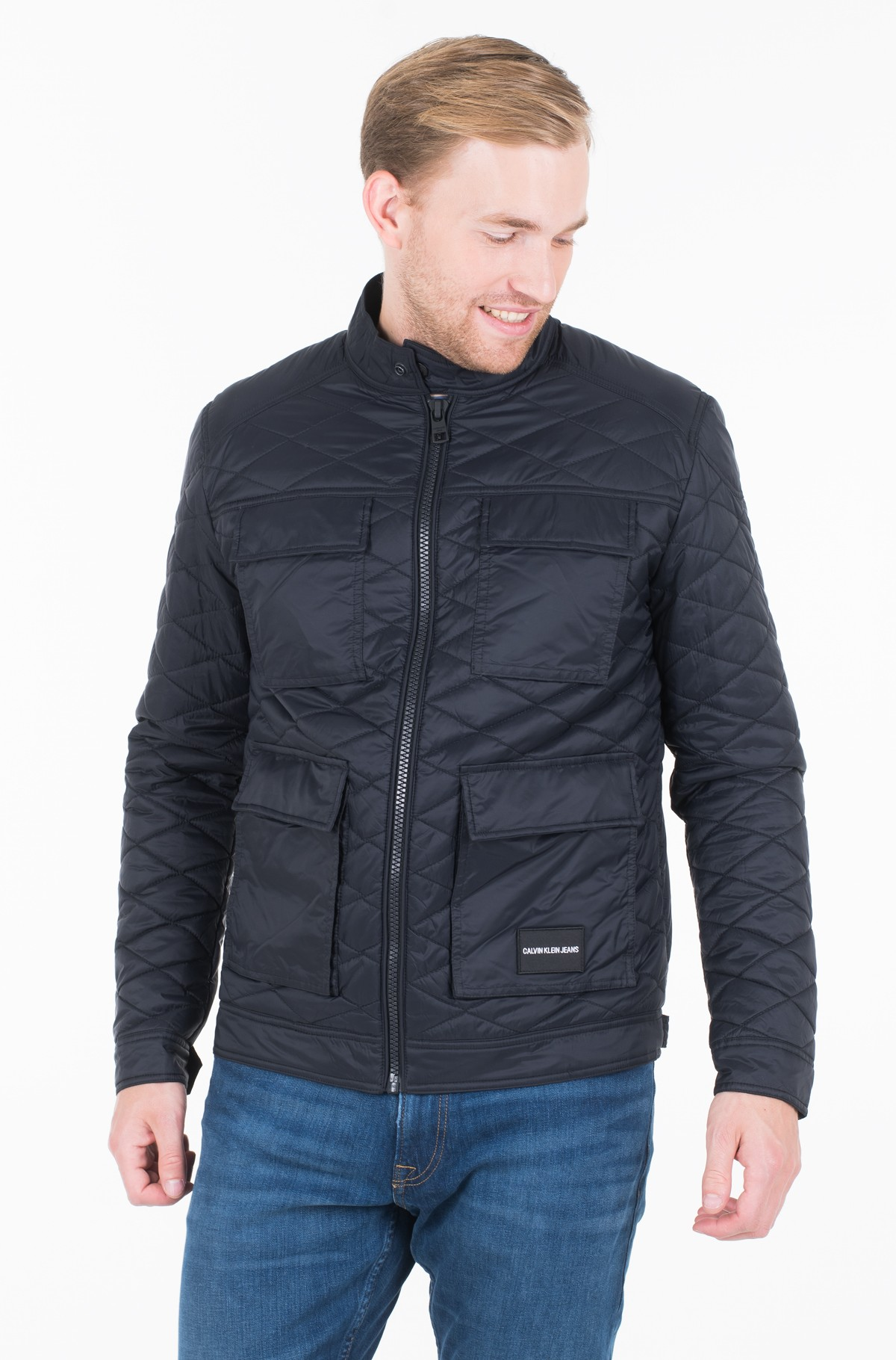 Jope QUILTED FIELD JACKET	-full-1