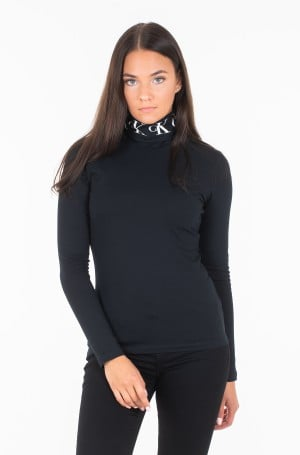 Pulovers MONOGRAM TAPE ROLL NECK LS TEE J20J212179-1