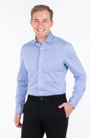 Marškiniai KNITTED STRIPE SLIM SHIRT-1