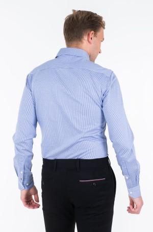 Marškiniai KNITTED STRIPE SLIM SHIRT-2