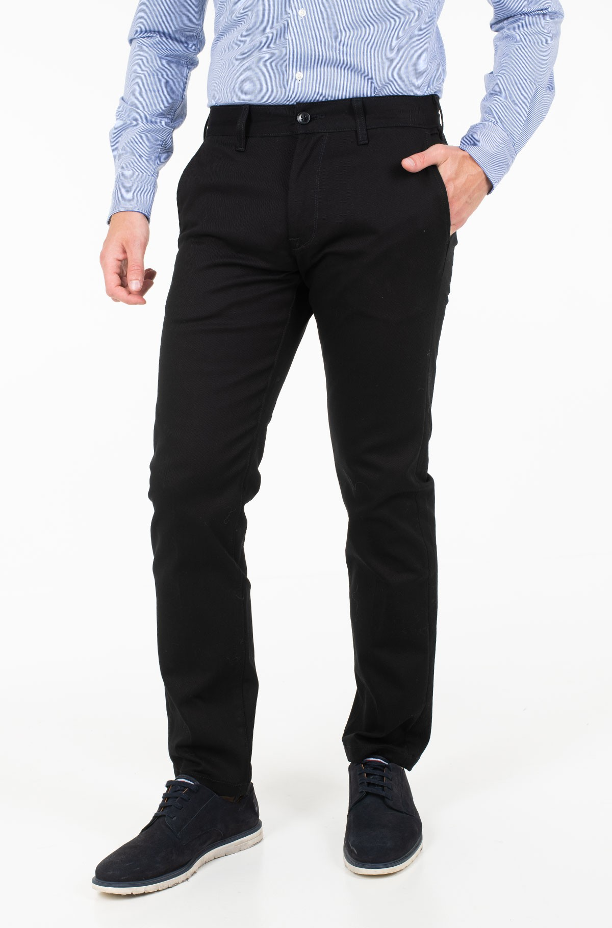 Teksapüksid RELAXED FIT CHINO STR CLEAN-full-1