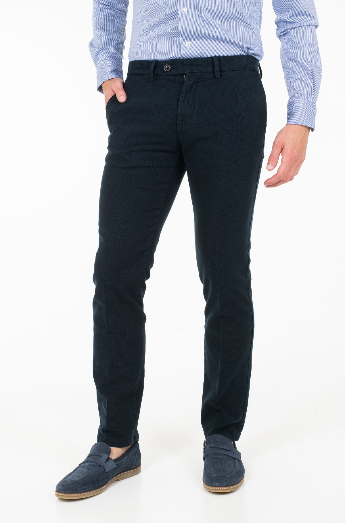 Trousers DENTON CHINO HONEYCOMB FLEX-full-1