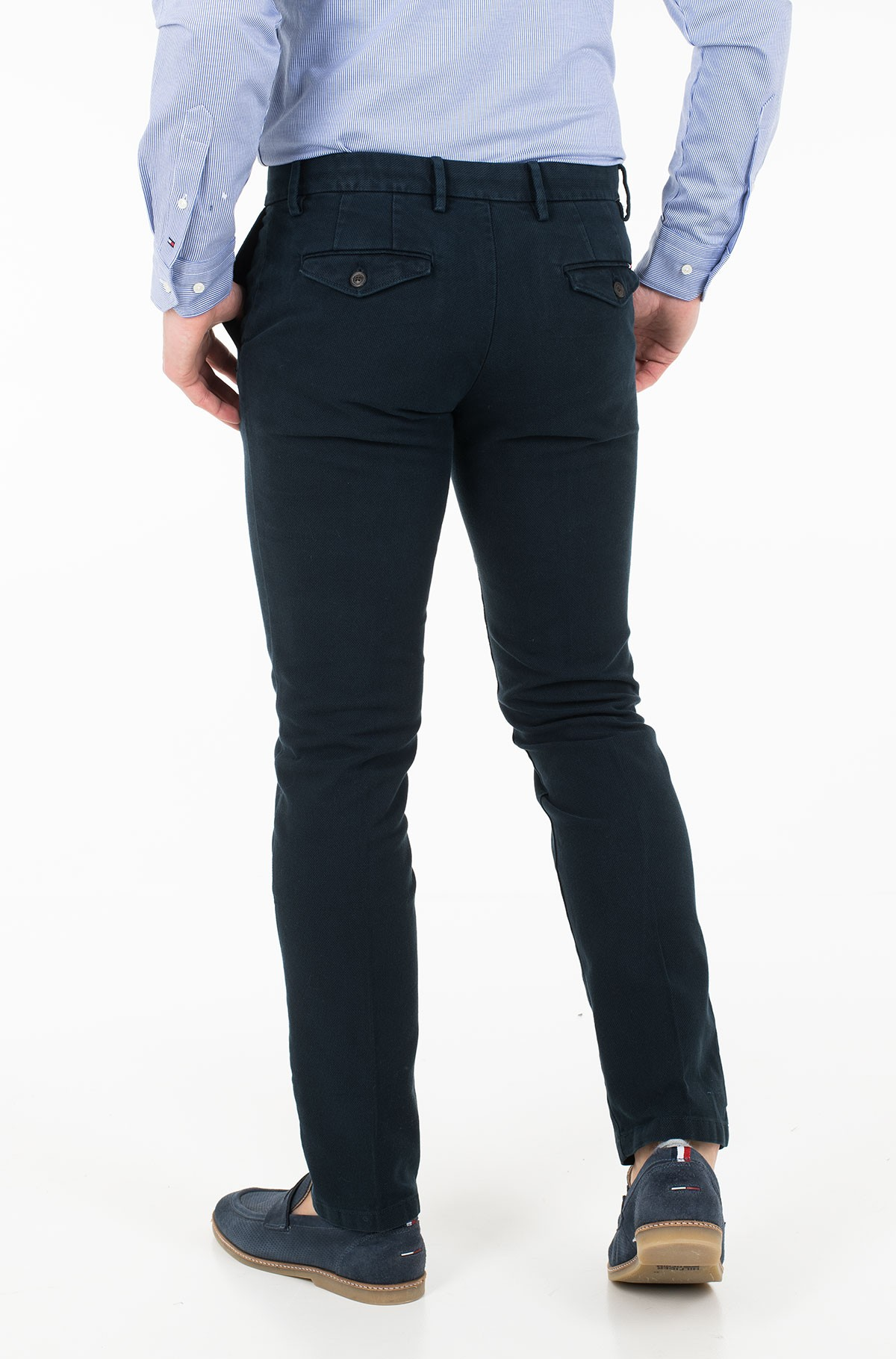 Trousers DENTON CHINO HONEYCOMB FLEX-full-2