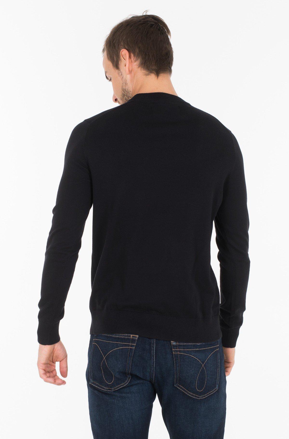 Sweater COTTON BLEND CN EMBRO SWEATER-full-2