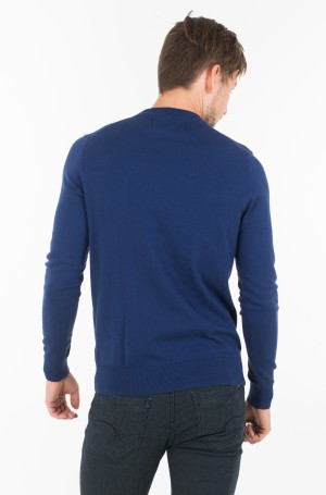 Sviiter COTTON BLEND CN EMBRO SWEATER-2