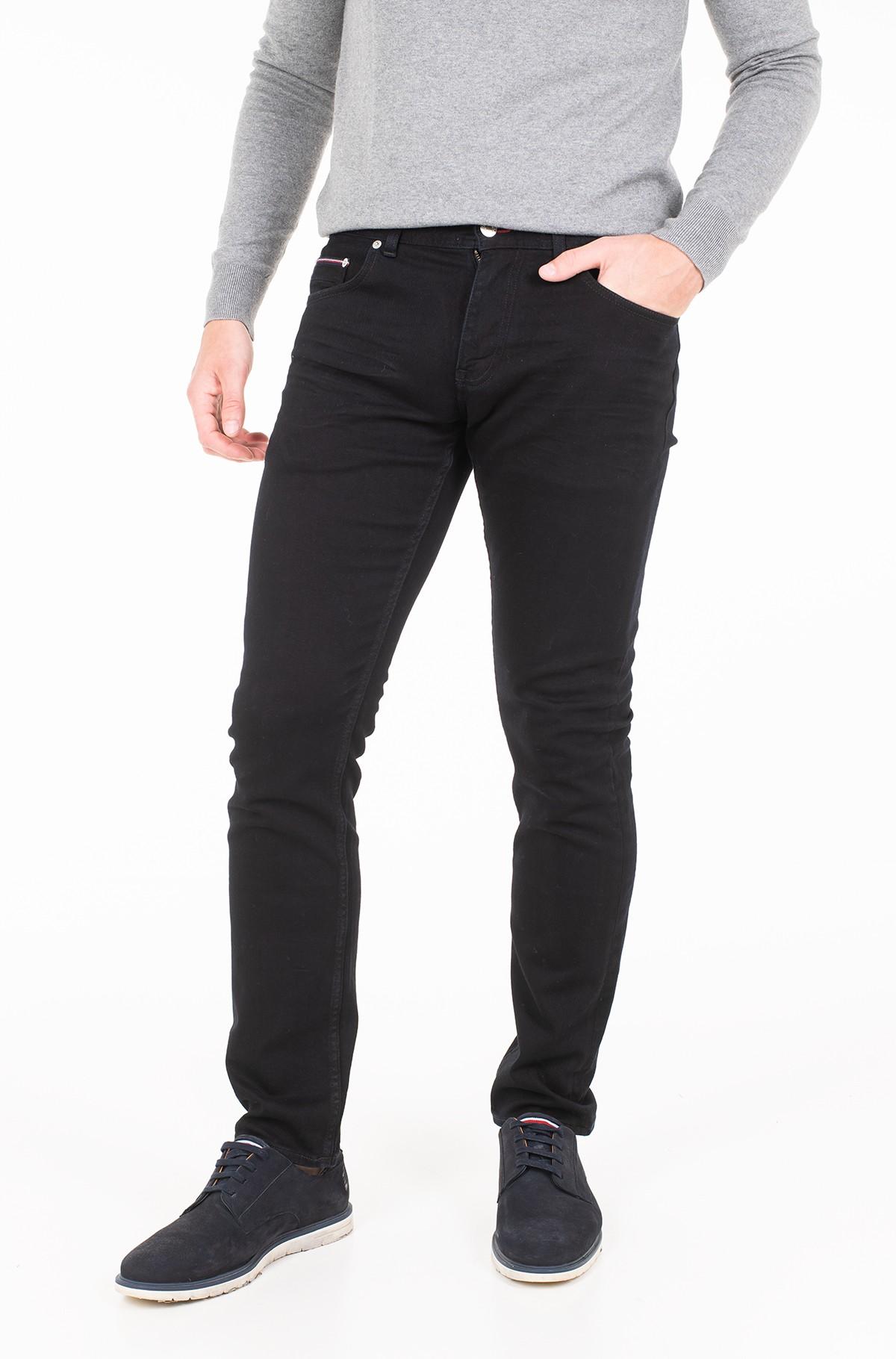 Džinsinės kelnės SLIM BLEECKER STSTR PELHAM BLACK-full-1