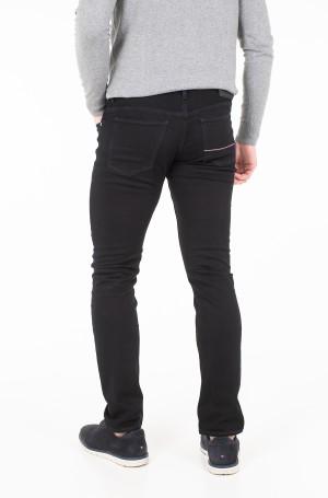 Džinsinės kelnės SLIM BLEECKER STSTR PELHAM BLACK-2