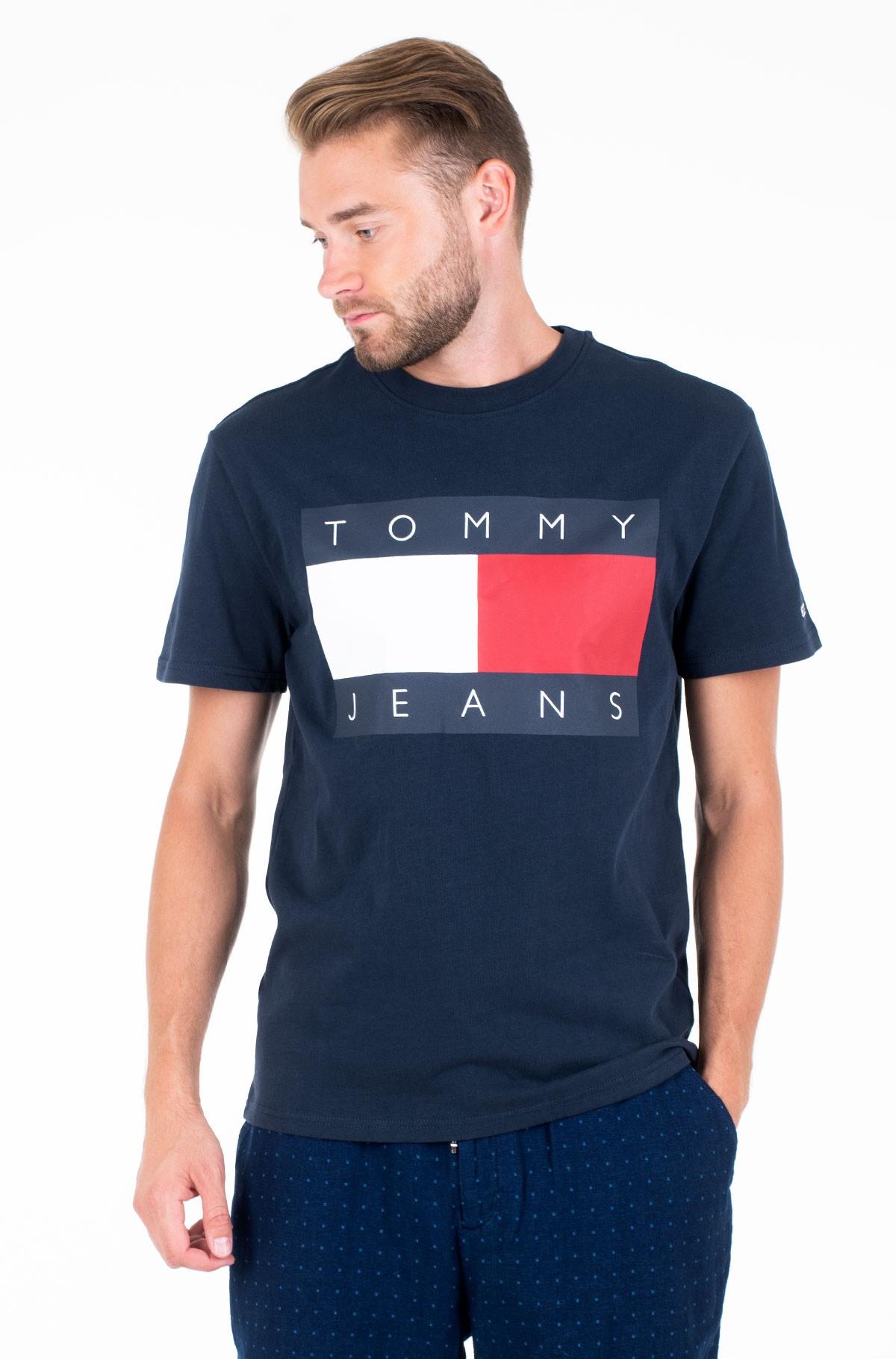 Marškinėliai TJM TOMMY FLAG TEE-full-1