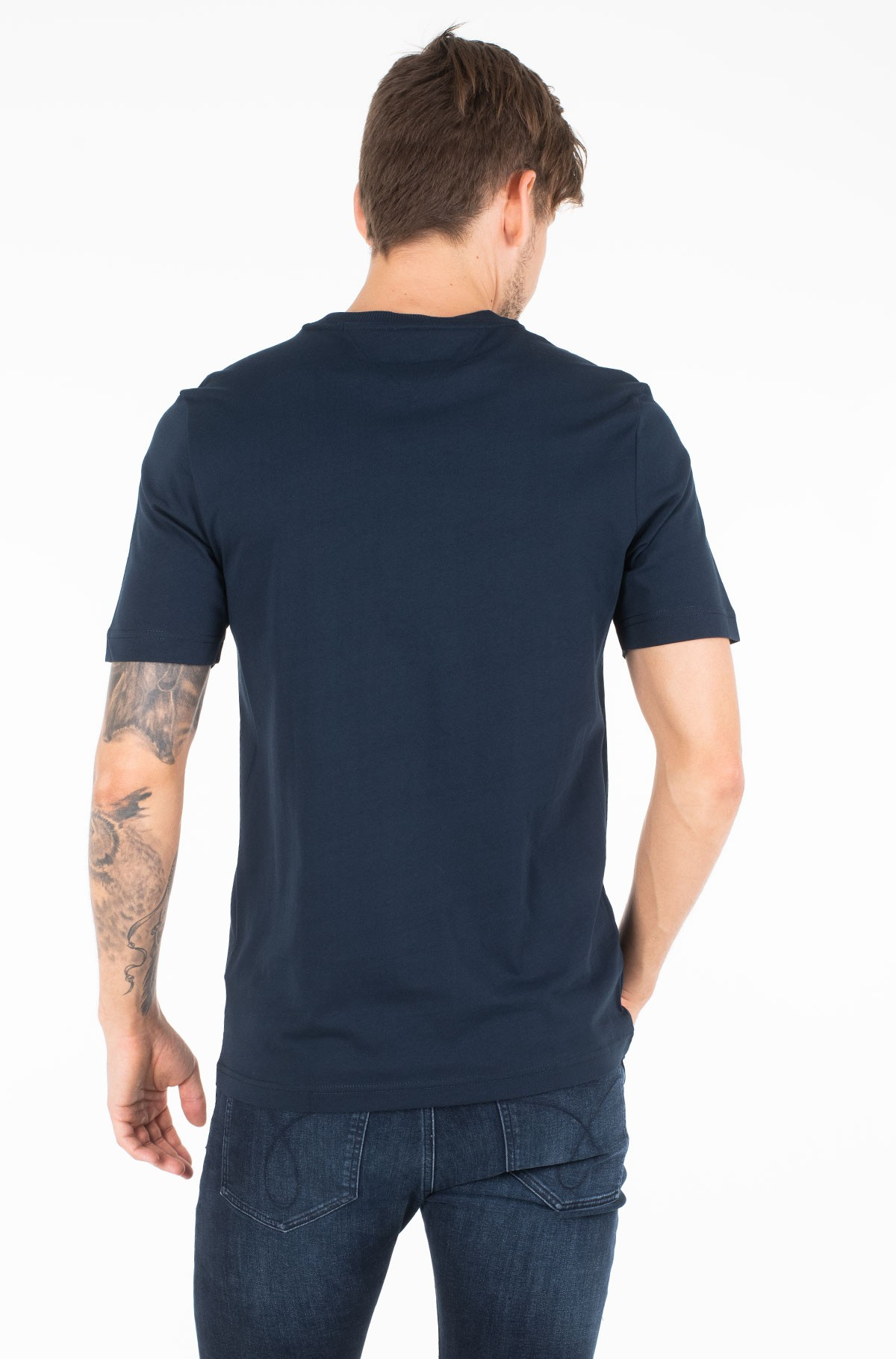 Marškinėliai MIXED CREST RELAXED FIT TEE-full-2