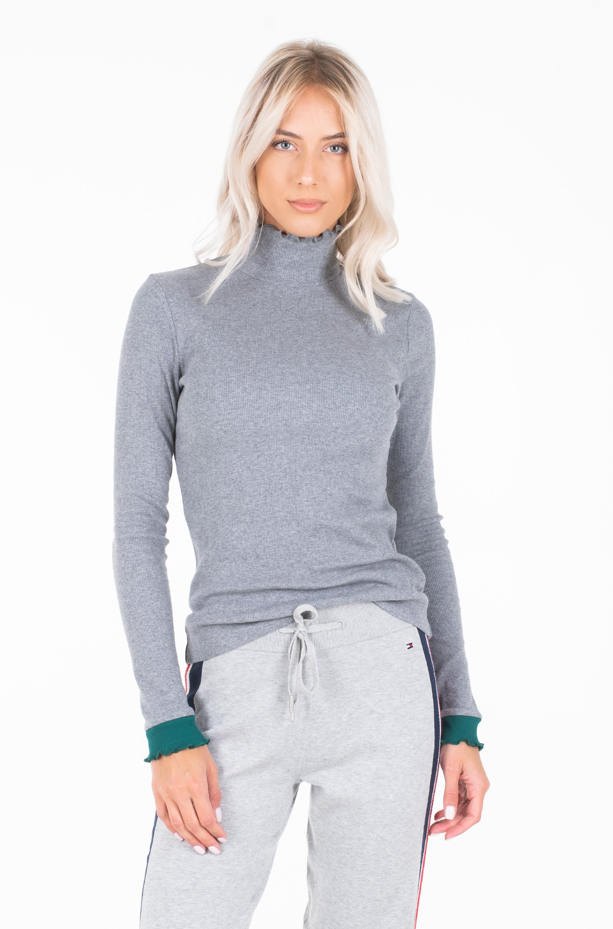 Pullover KYLIE MOCK NK LS-full-1