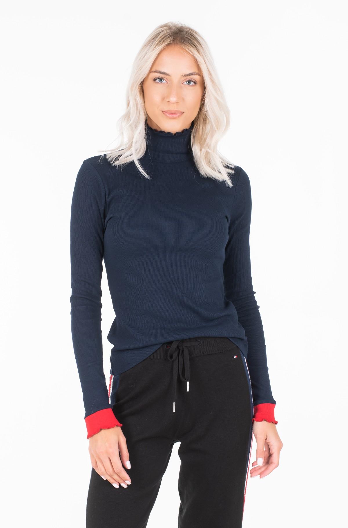 Megztinis su kaklu KYLIE MOCK NK LS-full-1