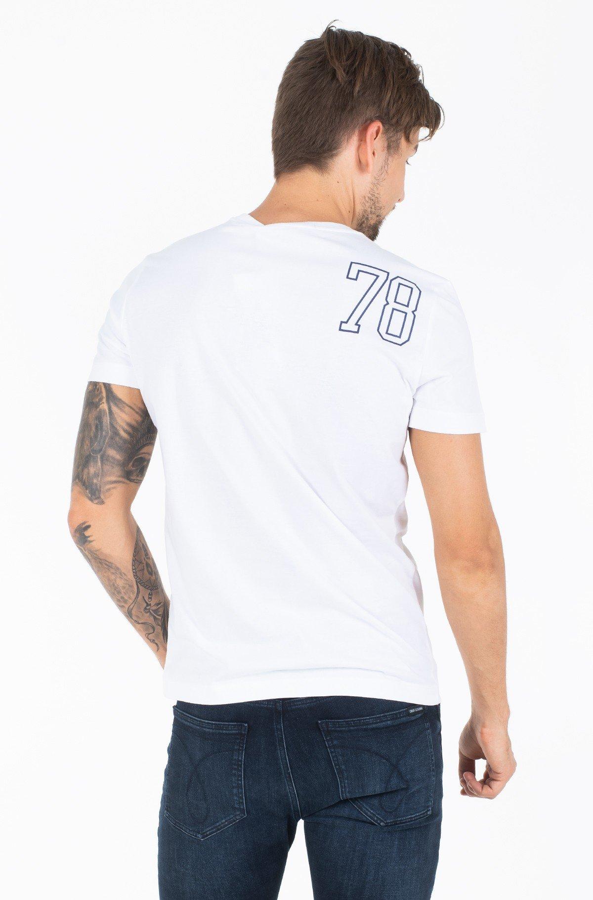 Marškinėliai PHOTOGRAPHIC BASKETBALL SLIM S/S-full-2