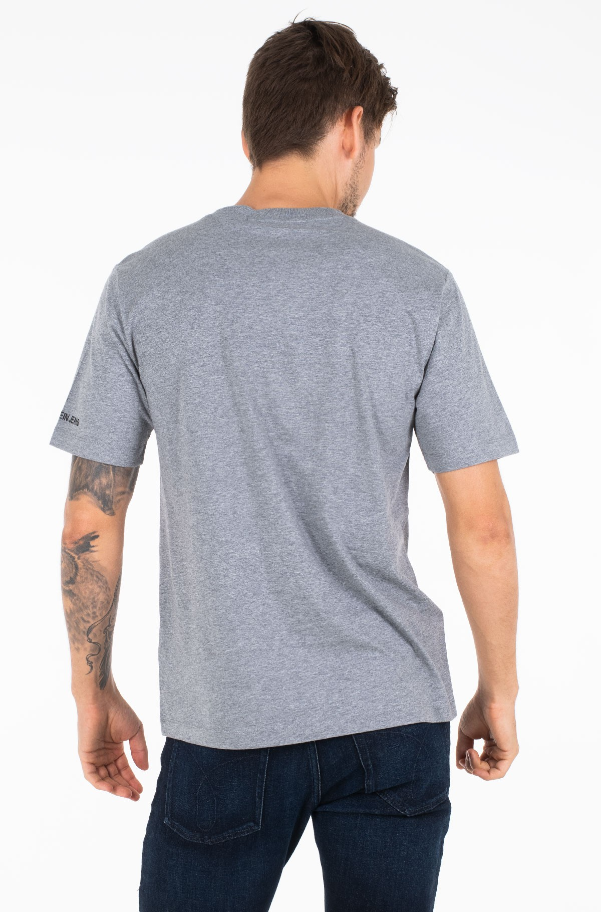 Marškinėliai INST FLAG PATCHWORK REG SS-full-2