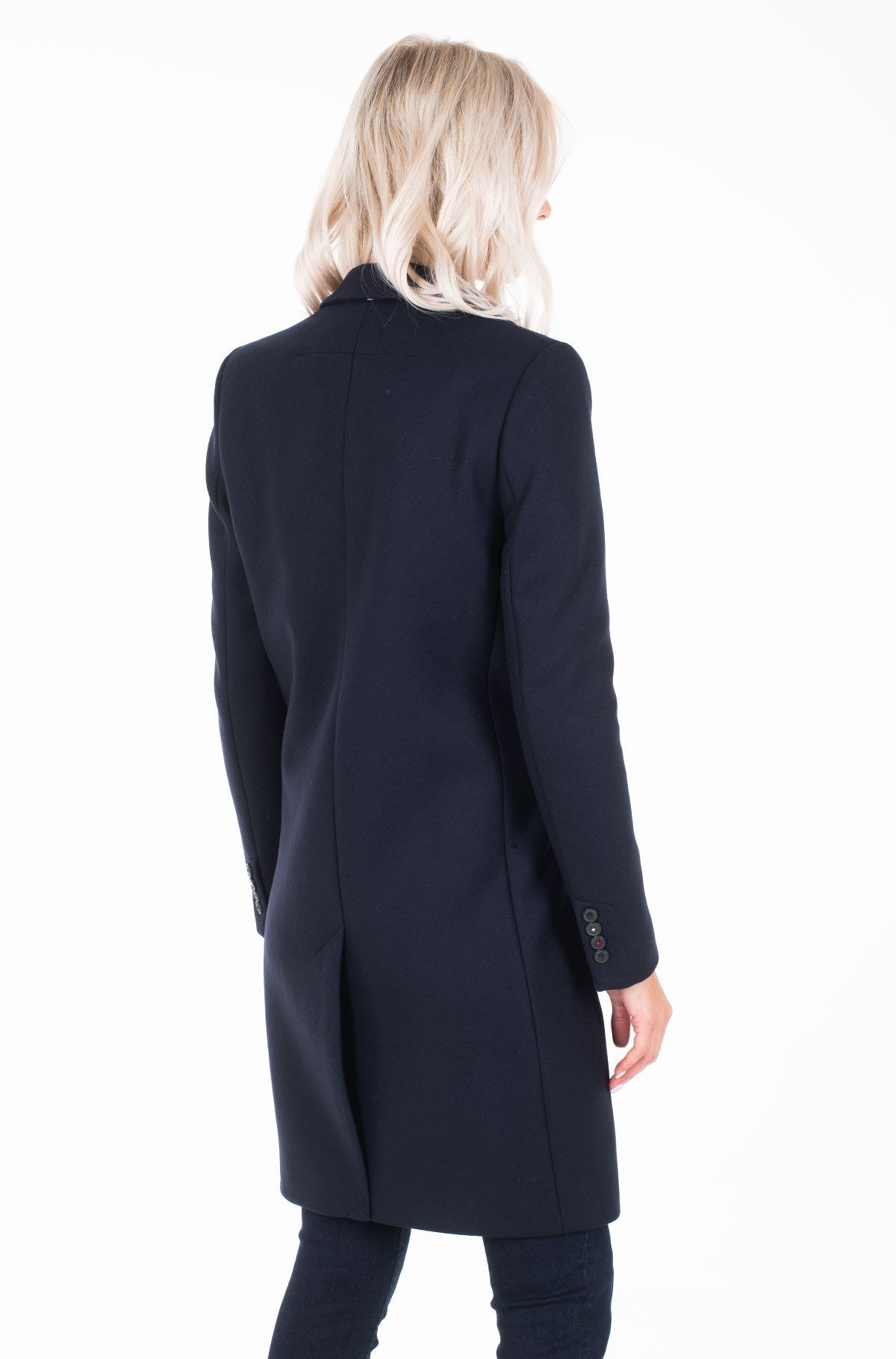 Paltas BELLE WOOL BLEND CLASSIC COAT-full-2
