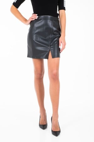 Leather skirt T1128H19-1