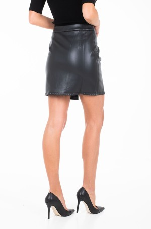 Leather skirt T1128H19-2