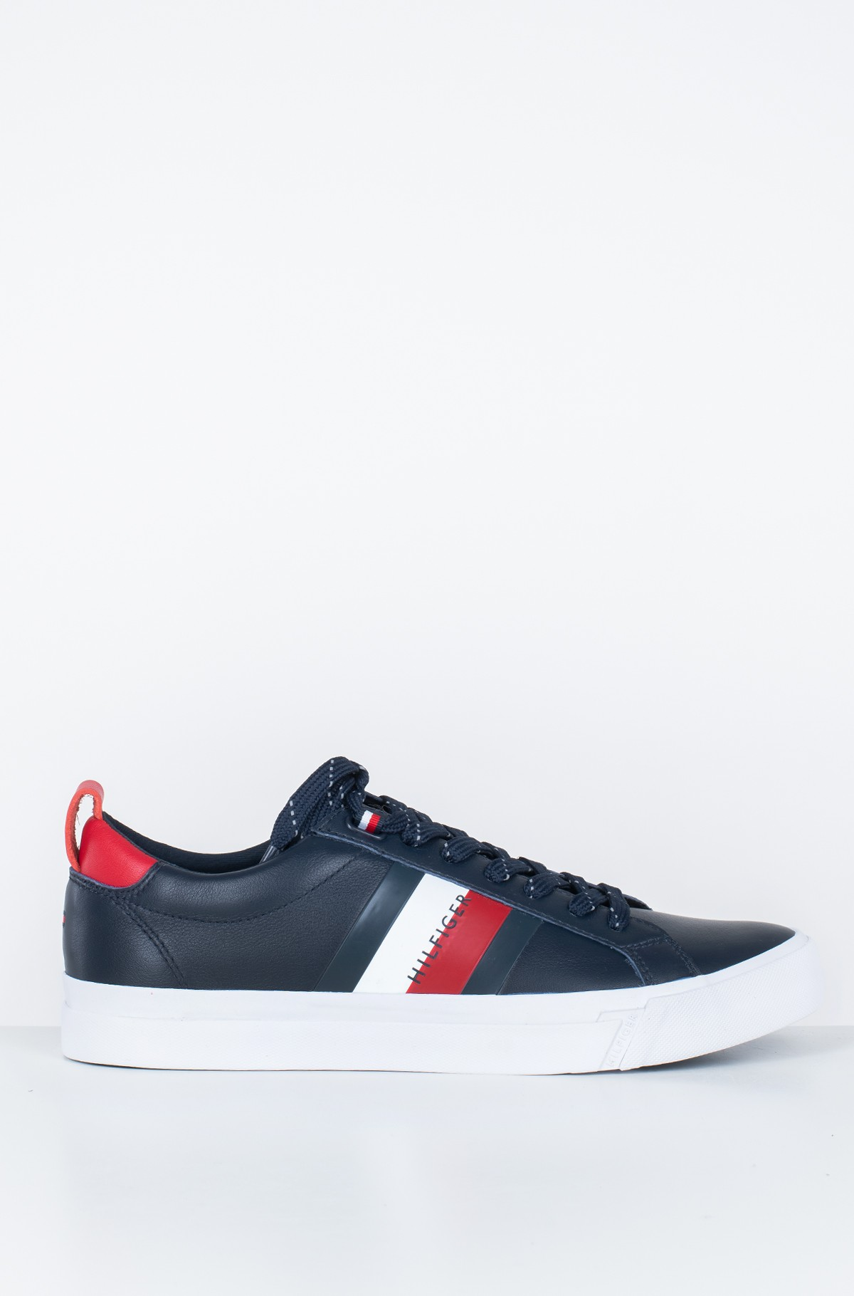 Sportbačiai FLAG DETAIL LEATHER SNEAKER-full-1