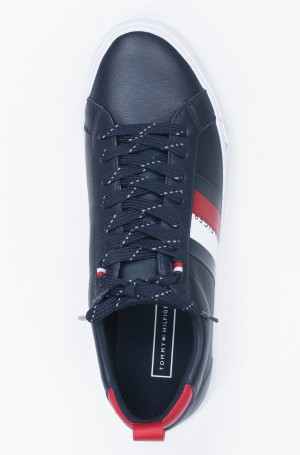 Sportbačiai FLAG DETAIL LEATHER SNEAKER-3