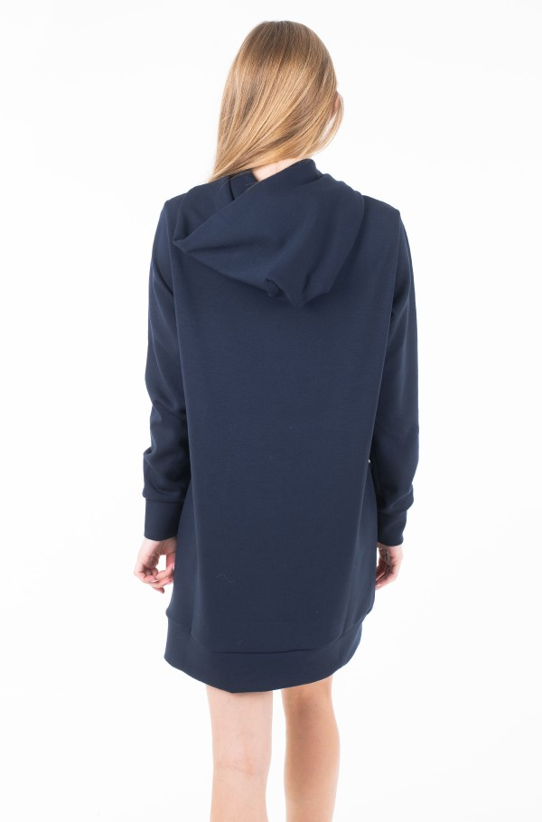 DIONE HOODED DRESS LS-hover