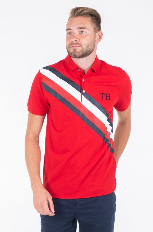 ICON STRIPE REGULAR POLO