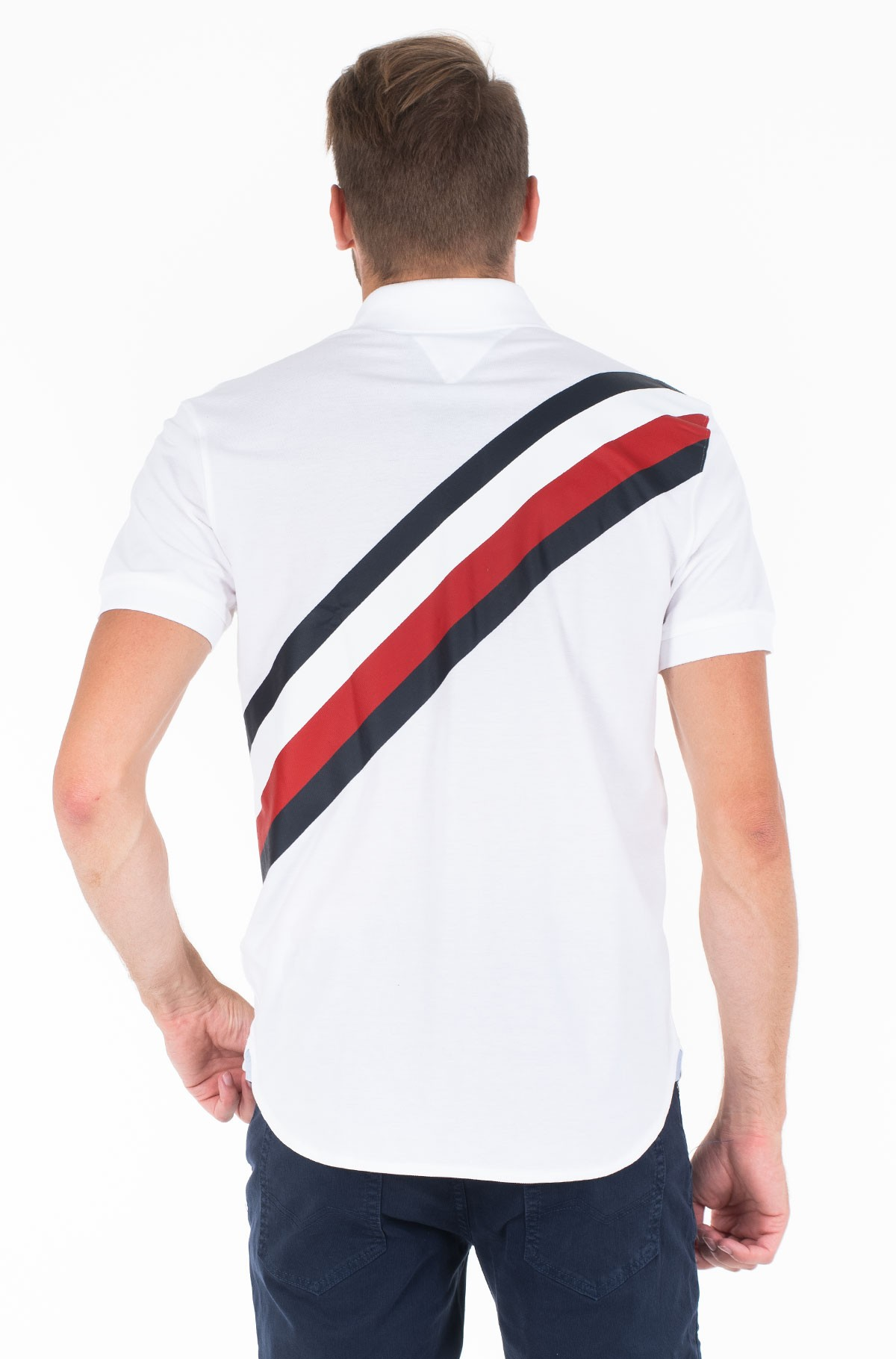 Polo ICON STRIPE REGULAR POLO-full-2