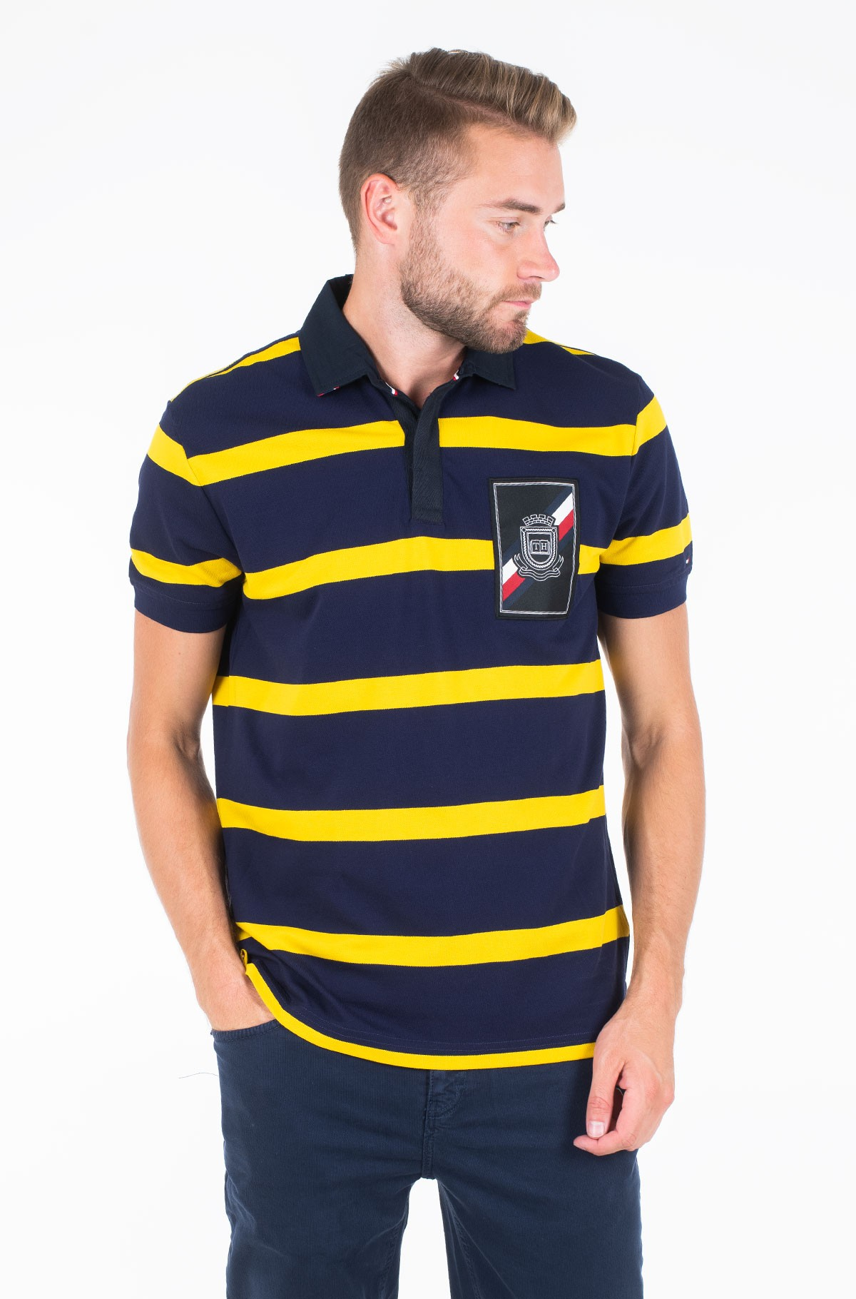 Polo RUGBY STRIPED REGULAR POLO-full-1