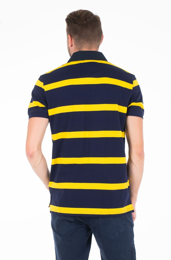 RUGBY STRIPED REGULAR POLO-hover