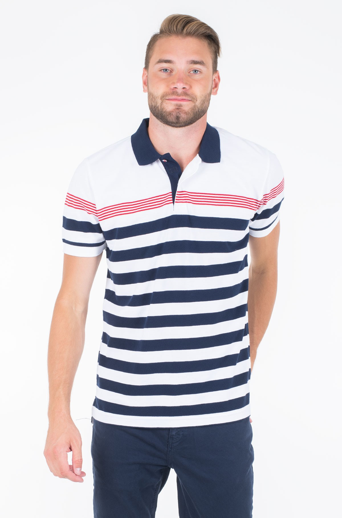 Polo ENG MULTI STRIPE REGULAR POLO-full-1