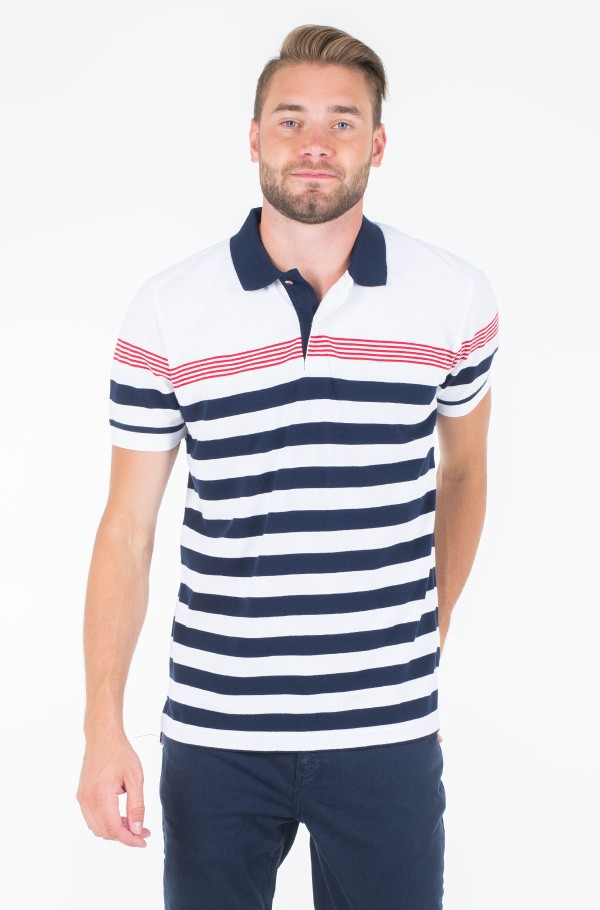 ENG MULTI STRIPE REGULAR POLO