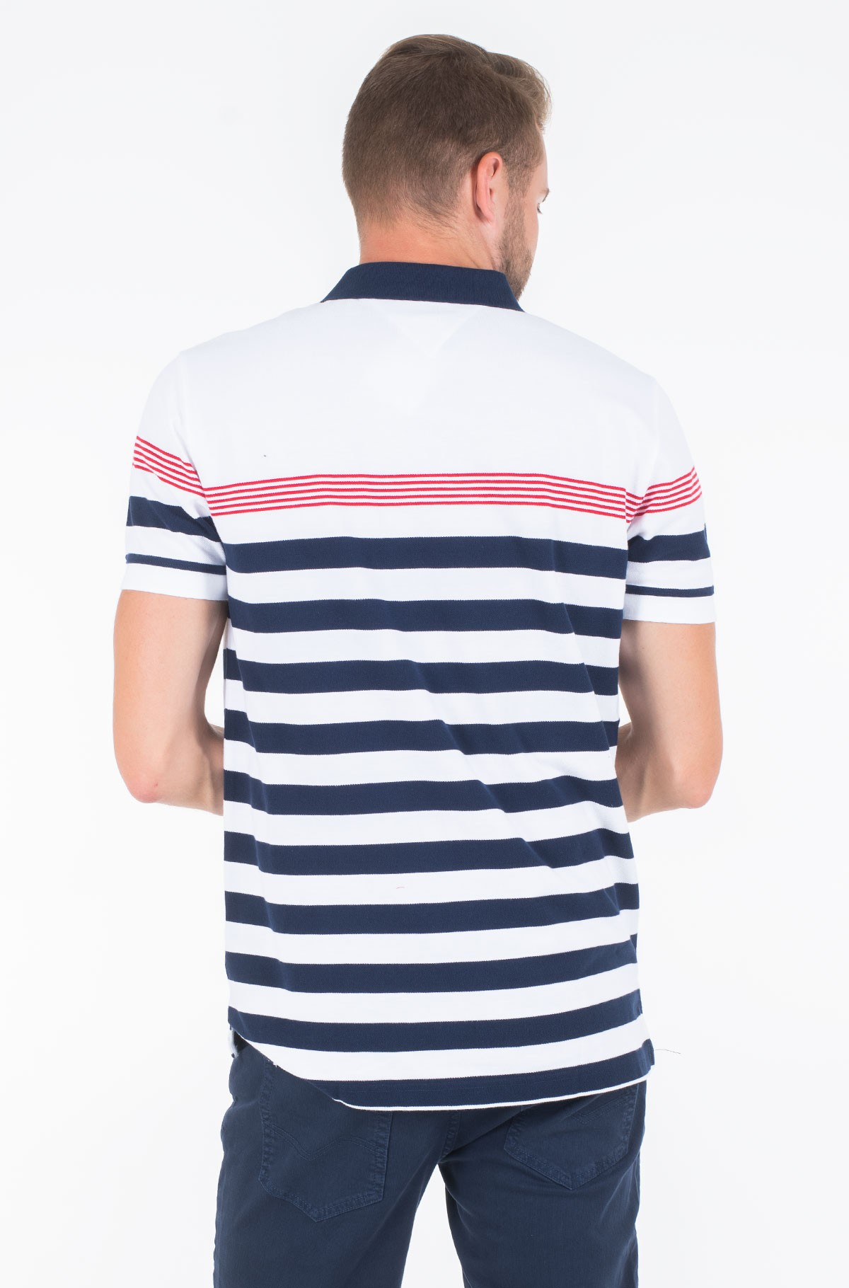 Polo ENG MULTI STRIPE REGULAR POLO-full-2
