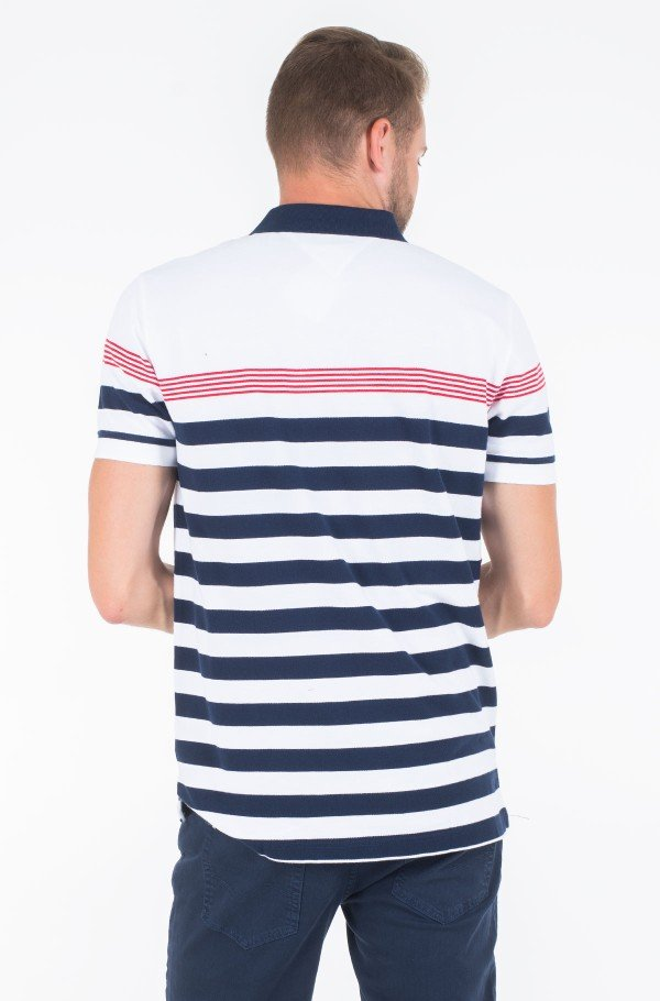 ENG MULTI STRIPE REGULAR POLO-hover