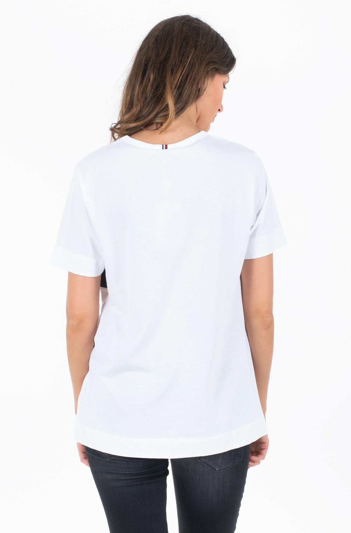 Marškinėliai LULA C-NK TEE SS-full-2