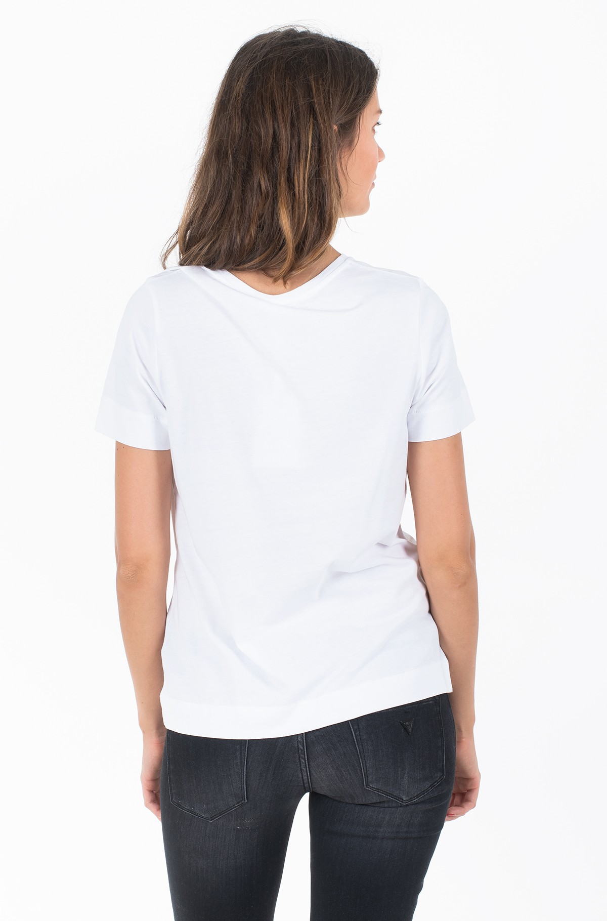 Marškinėliai KELSEY C-NK TEE SS-full-2