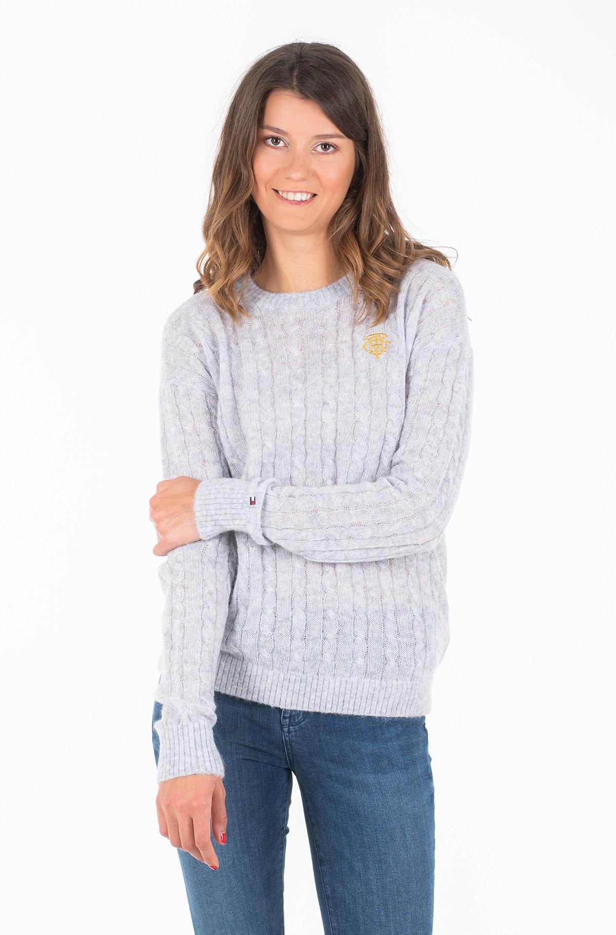 Sweater TH ESSENTIAL ALPACA C-NK SWTR-full-1