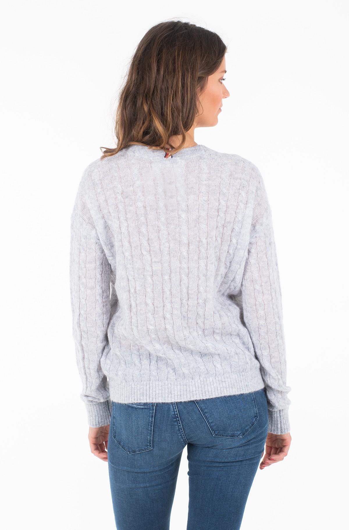 Sweater TH ESSENTIAL ALPACA C-NK SWTR-full-2