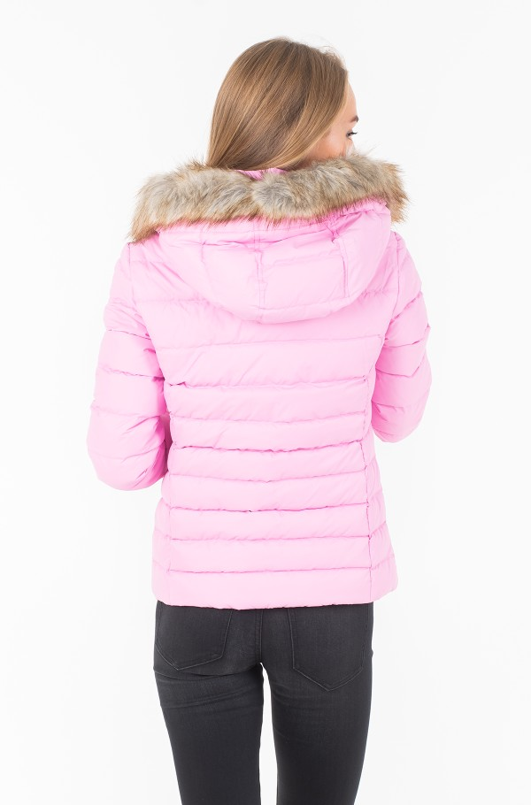 TJW ESSENTIAL HOODED DOWN JACKET-hover