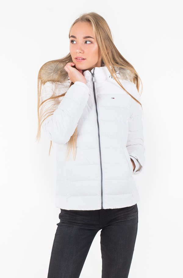 TJW ESSENTIAL HOODED DOWN JACKET