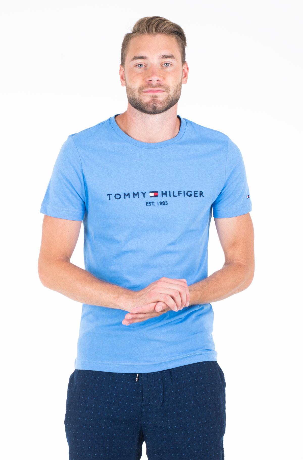 Marškinėliai Tommy Logo Tee-full-1