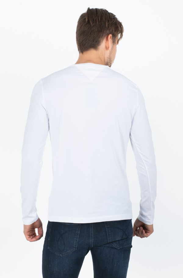 STRETCH SLIM FIT LONG SLEEVE TEE-hover